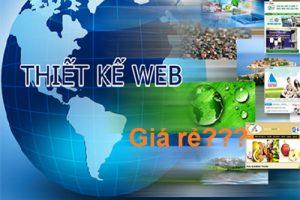 Thiết kế website giá rẻ - nên hay không?