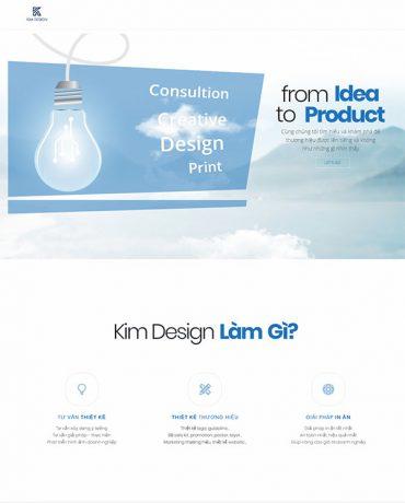Web thiết kế thương hiệu