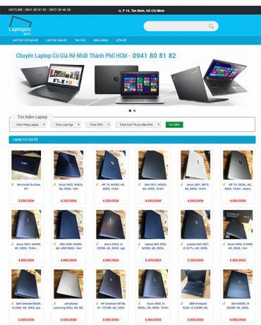 Website bán Laptop cũ