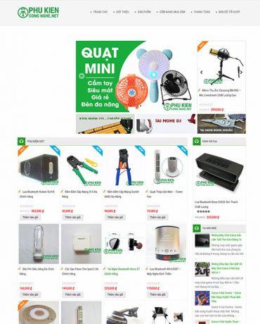 Website bán hàng công nghệ