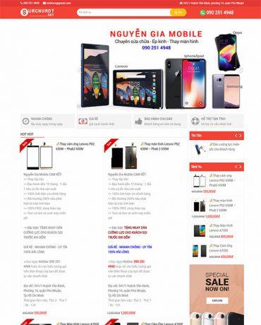 Website sửa chữa điện thoại